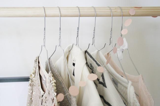 DIY colgador de ropa 4